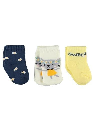 Civil Baby 3'lü Çorap Sarı